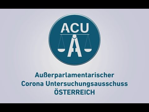 Pressekonferenz Gründung des Außerparlamentarischen Corona Untersuchungsausschuss Österreich ACU-A