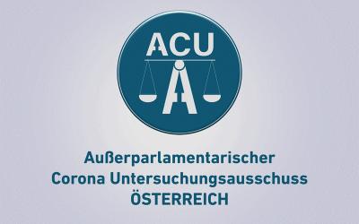 Gründung des Außerparlamentarischen Corona Untersuchungsausschusses (ACU-A)